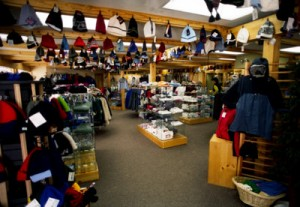 Diary Note: Shopping in Chamonix