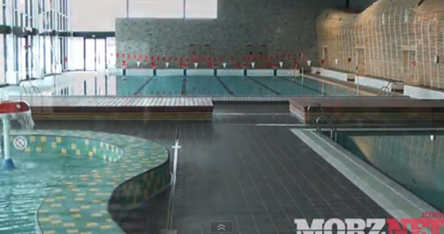 New indoor swimming pool in Morzine