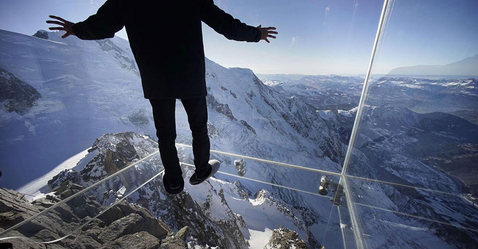 The Aiguille du Midi Skywalk
