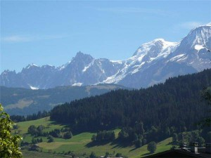 beautiful Megeve scenery