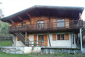 Divided chalet in Cordon