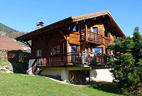 Chalet in the centre of Cordon near Megeve