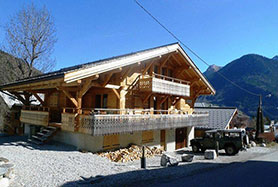 Stunning luxury chalet for sale