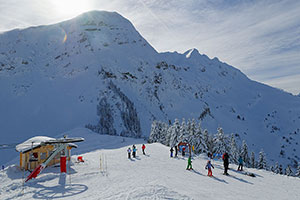 La Grande Terche or Roc d'Enfer ski area