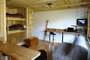 Why buy a ski studio?