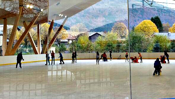 New Ice Rink in Samoens