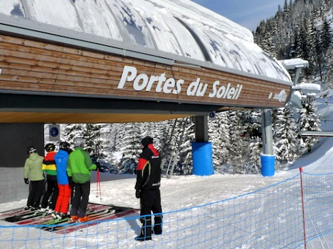 Chatel – New Ski Lifts Opening
