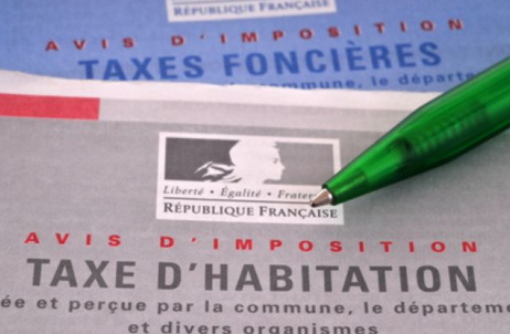 What is the difference between taxe foncière and tax d'habitation