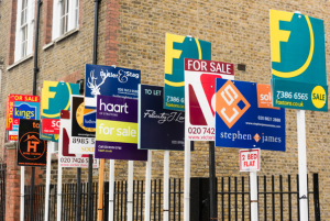 For Sale signs UK after BREXIT