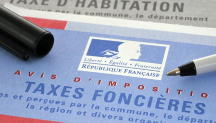 Taxe Fonciere, annual property tax in France